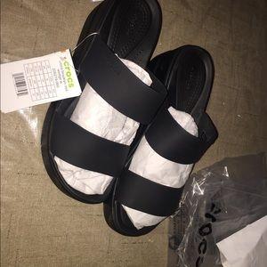 Crocs women's Brooklyn wedge sandal